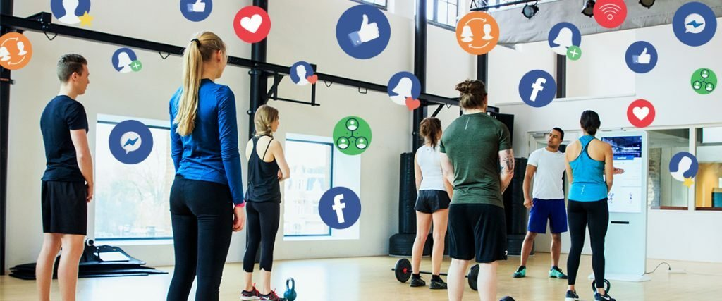 Fitness community for Facebook - Virtuagym