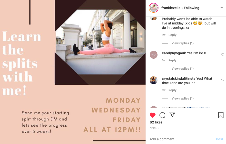 Hacks for using Instagram as a fitness professional
